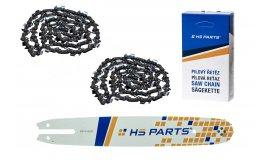 HS PARTS Akční set vodící lišta 14