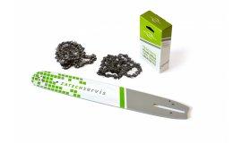 Lišta 40cm + 2x řetěz 60 článků 3/8 1,5mm pro Husqvarnu