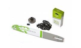 Lišta 40cm + řetěz 60 čánků 3/8 1,6mm +řetězka Stihl MS380