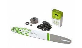 Lišta 45cm + řetěz 66 článků 3/8 1,6mm + řetězka Stihl MS360