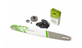 Lišta 50cm +řetěz 72 článků 3/8 1,6 mm + řetězka Stihl MS360