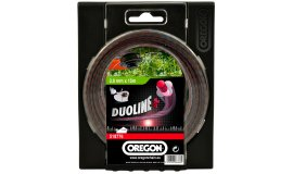 Žací struna DUOLINE PLUS - bezhlučné 3,0mm x 15m